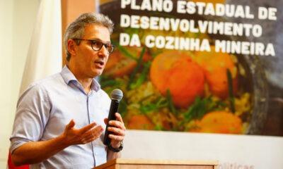 Romeu Zema lança Plano Estadual de Desenvolvimento da Cozinha Mineira