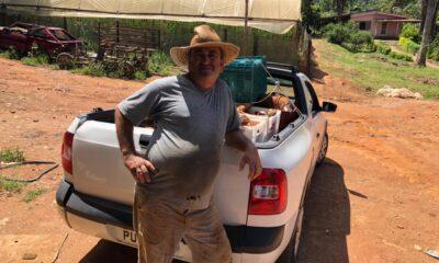 """Faça como o produtor Mauro Rosa e seja um """"amigo doador"""" do Banco de Alimentos"""