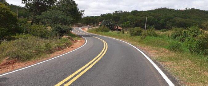 DER-MG já concluiu obras de melhoria em 47 quilômetros da BR-367