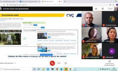 Secretaria de Turismo fecha parceria com a CVC para dar mais visibilidade à Poços quando as restrições forem suspensas