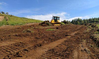 Em Poços: Iniciadas as obras de infraestrutura da área de transbordo do lixo