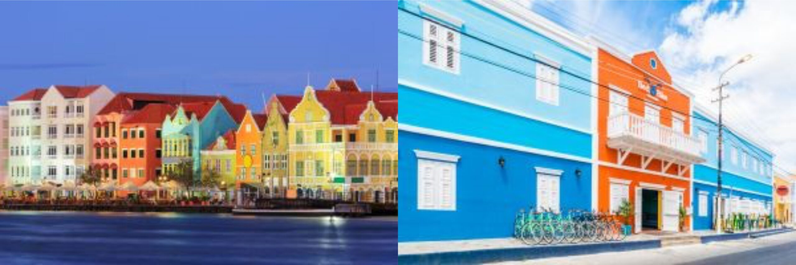 Booking.com selecionou 6 lugares coloridos ao redor do mundo