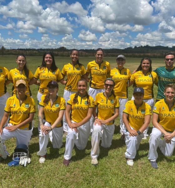Doze atletas da seleção brasileira de Críquete são de Poços de Caldas