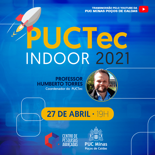 PUC Minas Poços de Caldas realiza live para apresentar programa de incentivo a projetos