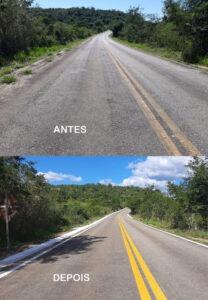 DER-MG faz manutenção em quatro rodovias dos vales Jequitinhonha e Mucuri