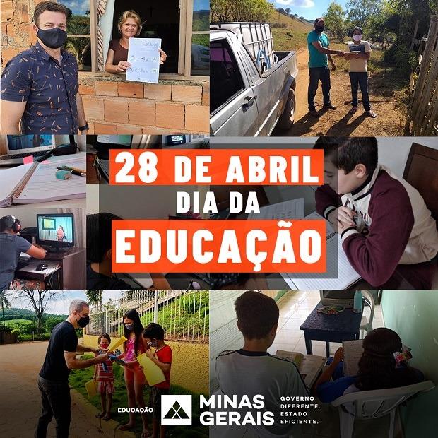Dia da Educação: Estado garante direito ao ensino para crianças e jovens mineiros