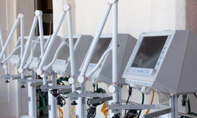 PUC Minas Poços de Caldas doa cinco respiradores de alta tecnologia à Secretaria de Saúde