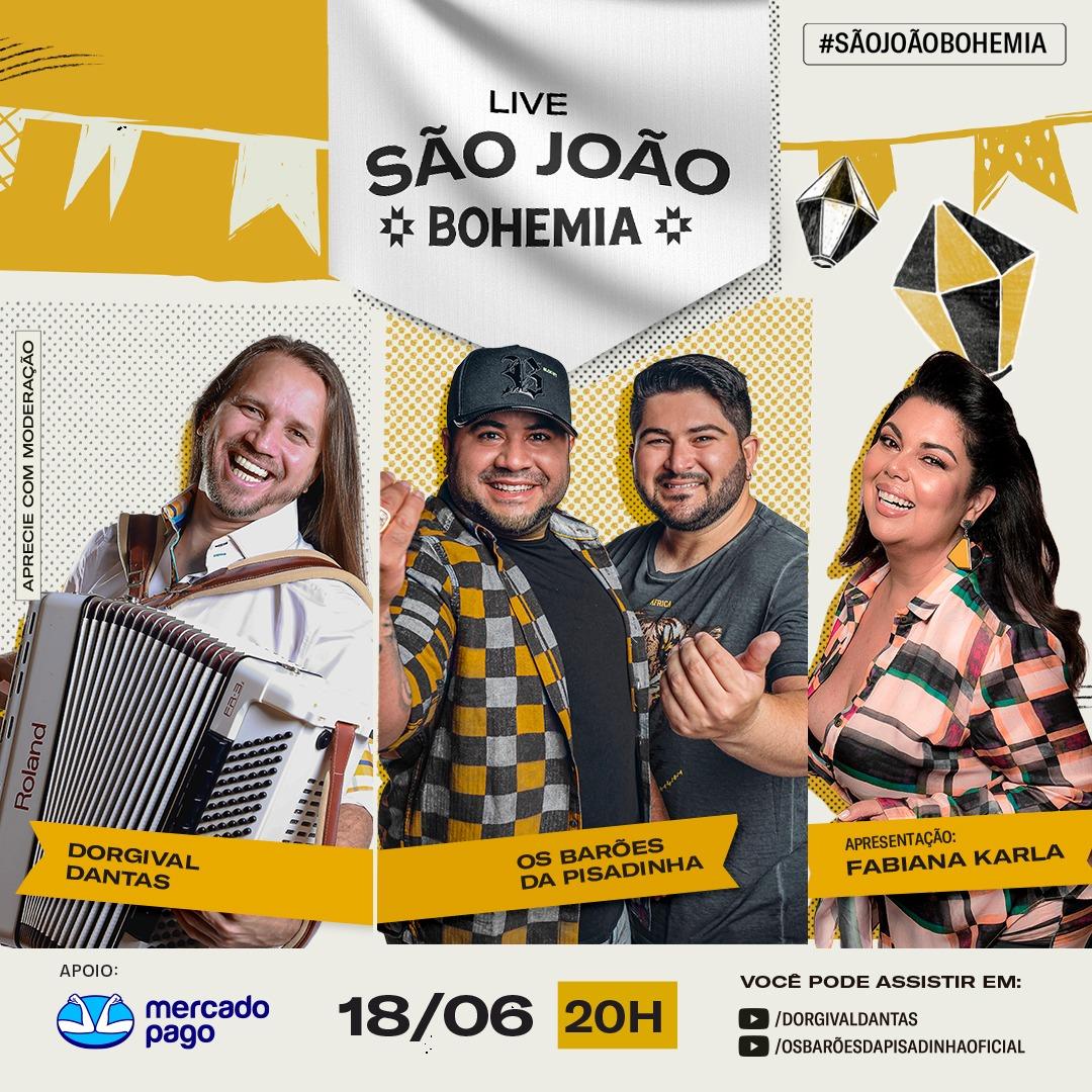Live de São João