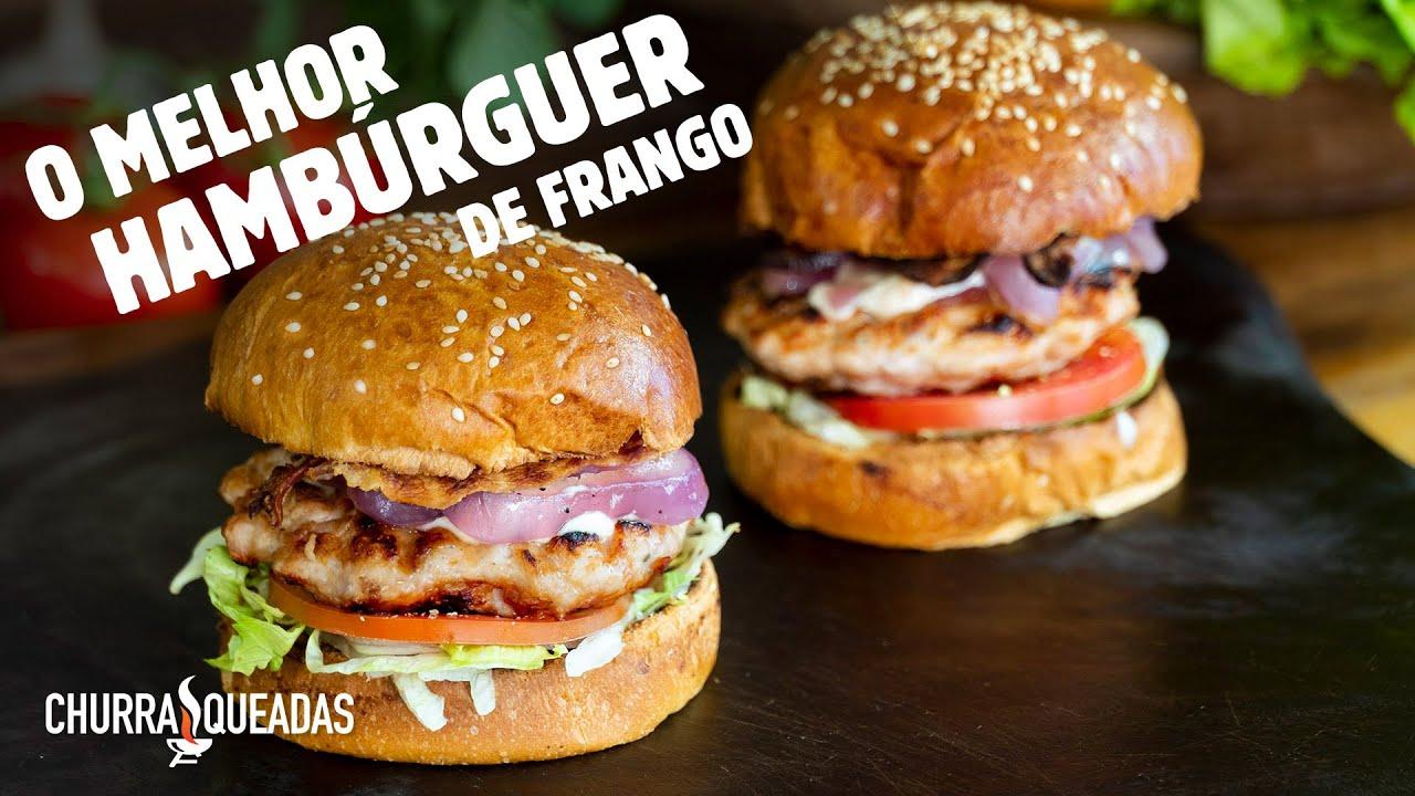 Hambúrguer de Linguiça de Frango com Bacon I Churrasqueadas