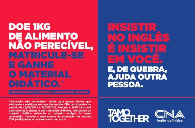 CNA cria promoção solidária