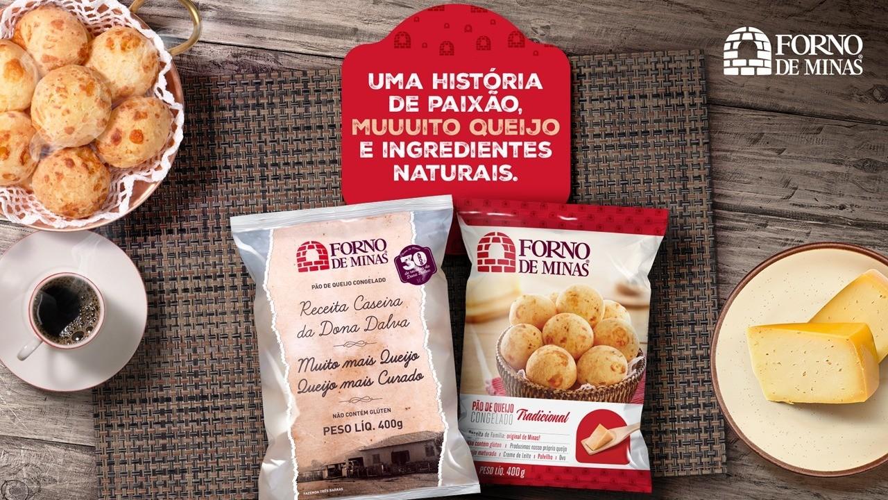 Está no ar a nova campanha publicitária da Forno de Minas