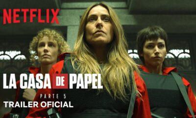 La casa de papel: Parte 5 - Volume 1 | Trailer oficial | Netflix