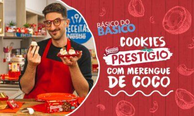 Cookie Prestígio com Merengue de Coco - Receitas Nestlé