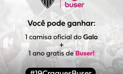 Buser premiará torcedores do Galo com um ano de viagens grátis