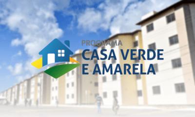 Governo ajusta programa habitacional Casa Verde e Amarela