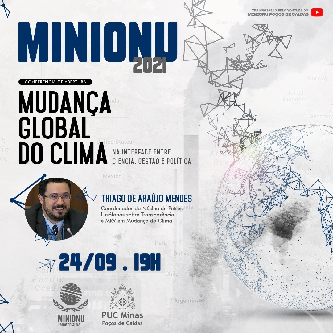 PUC Minas Poços de Caldas realiza 6º MINIONU em formato online