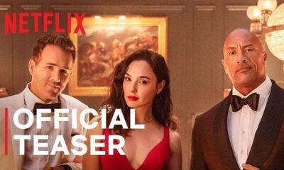 Alerta Vermelho | Teaser oficial | Netflix